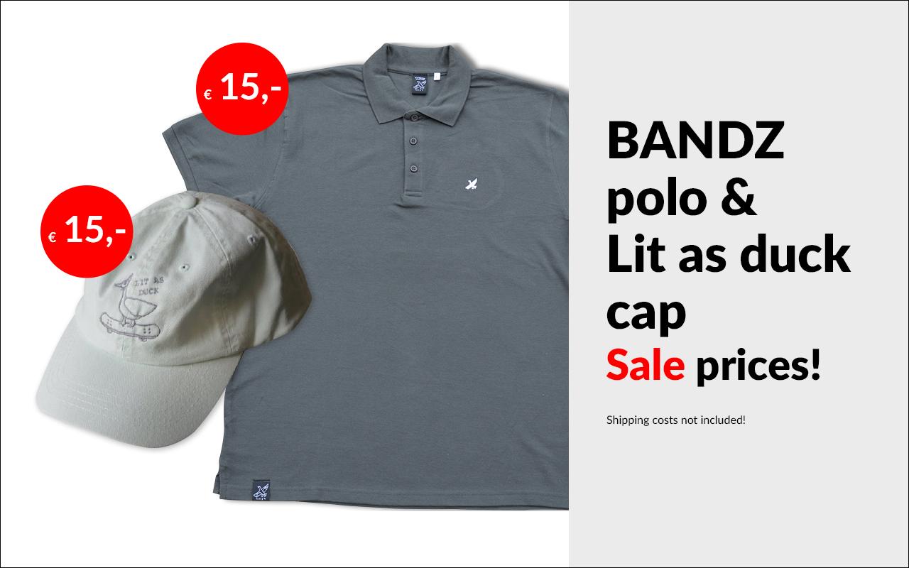 Bandz polo & cap