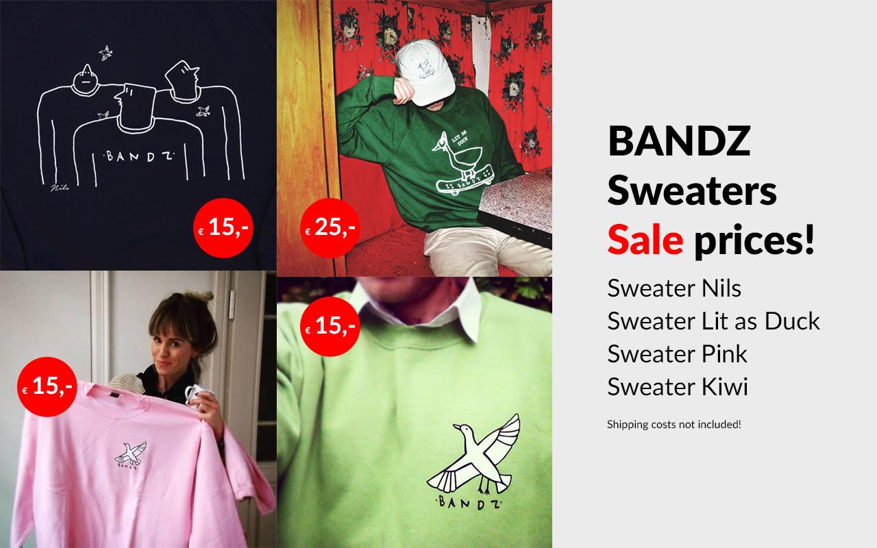 Bandz sweaters