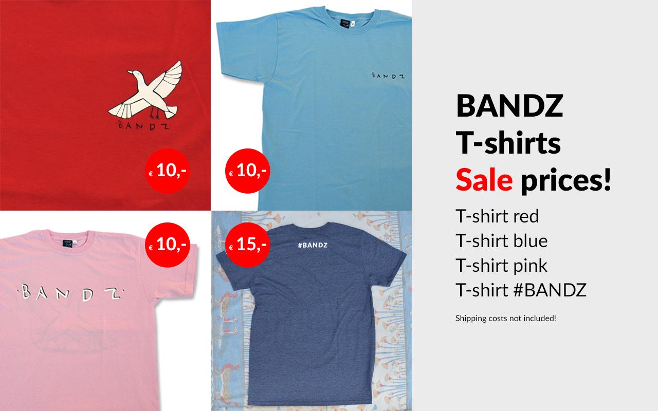 Bandz t-shirts
