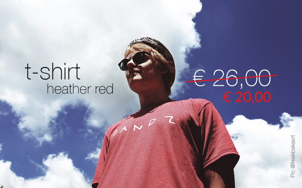T-shirt Heather Red BANDZ