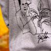 Bandz grey hoodie collab Yella - Yeelen Moens